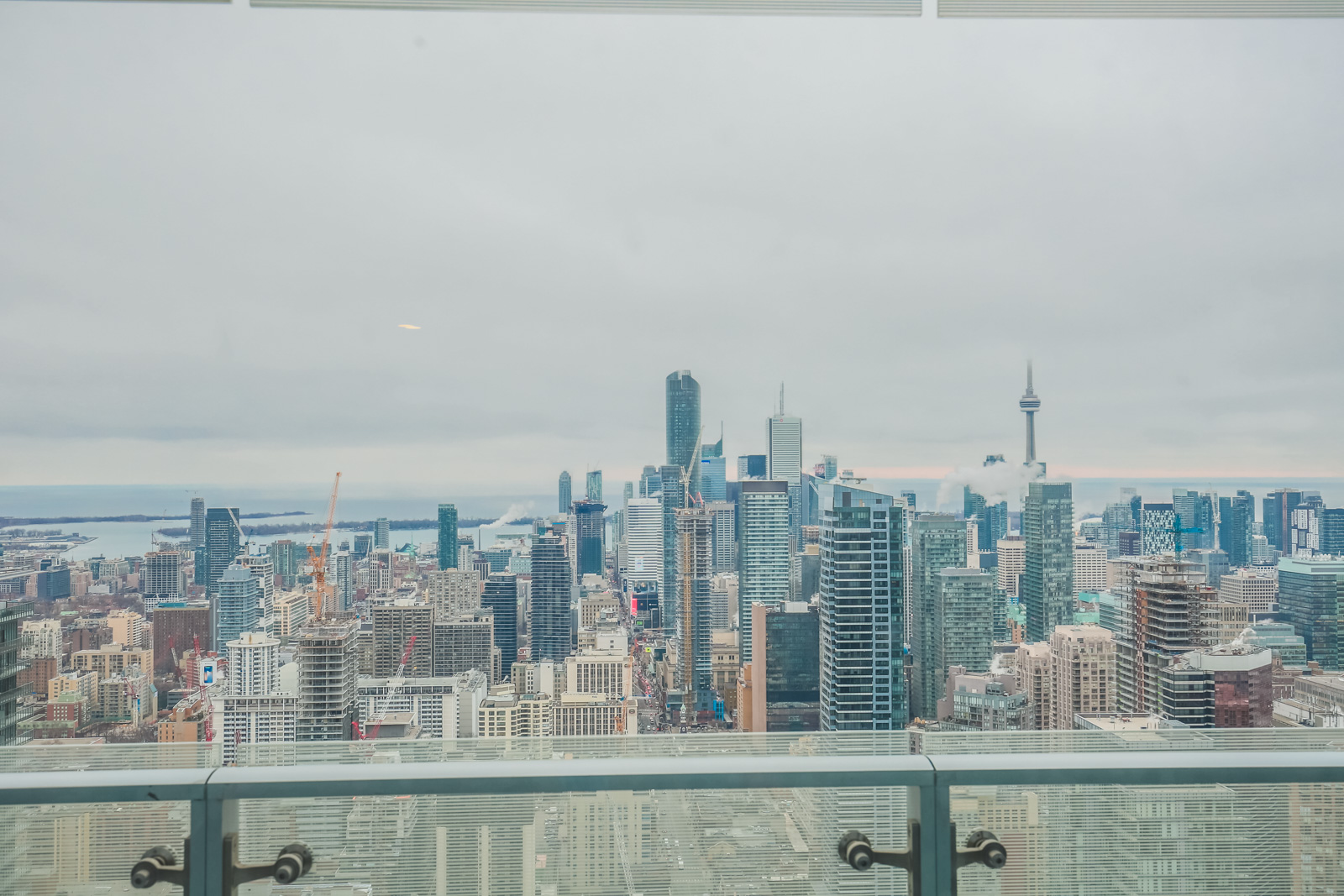 View of Toronto from 1 Bloor Street East