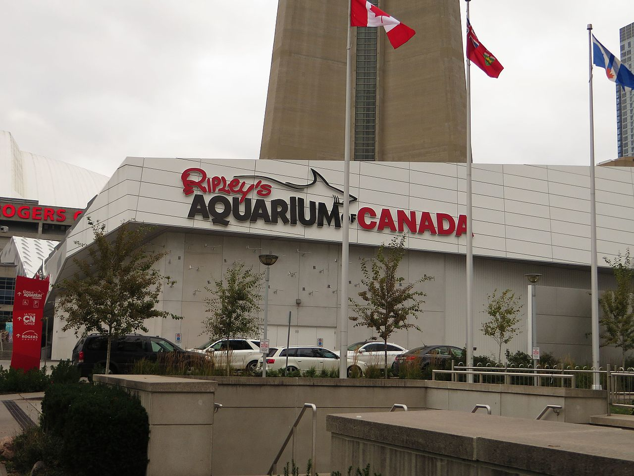 Photo of Ripley's Aquarium, right next to the CN Tower - Entertainment District