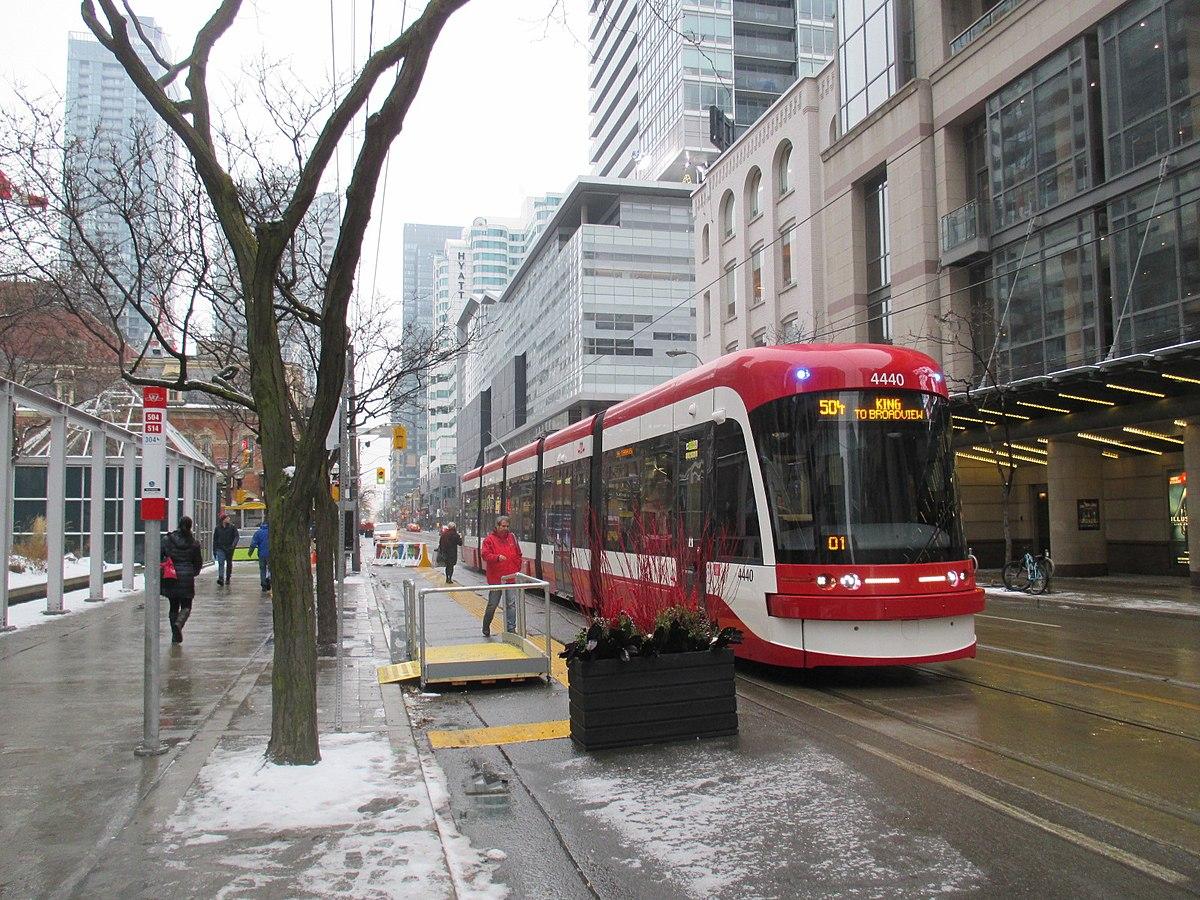 Streetcar photo Toronto
