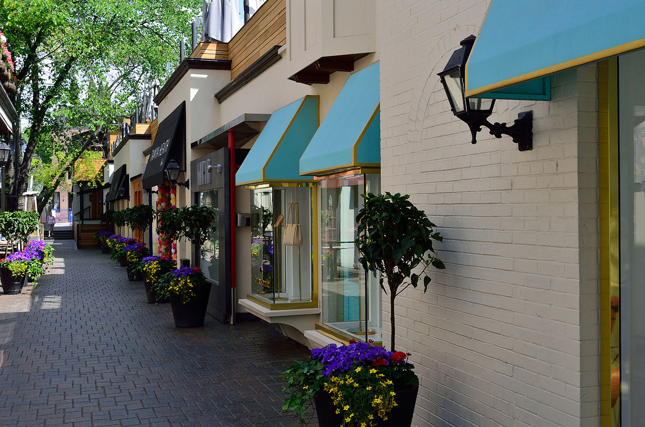 Image of Yorkville streets and their shops. Picture shows glass displays and nice colours; by Wins Lai Toronto Real Estate Agent. Therefore same, less, rather, while, yet, opposite, much as, either as a result, hence, consequently.