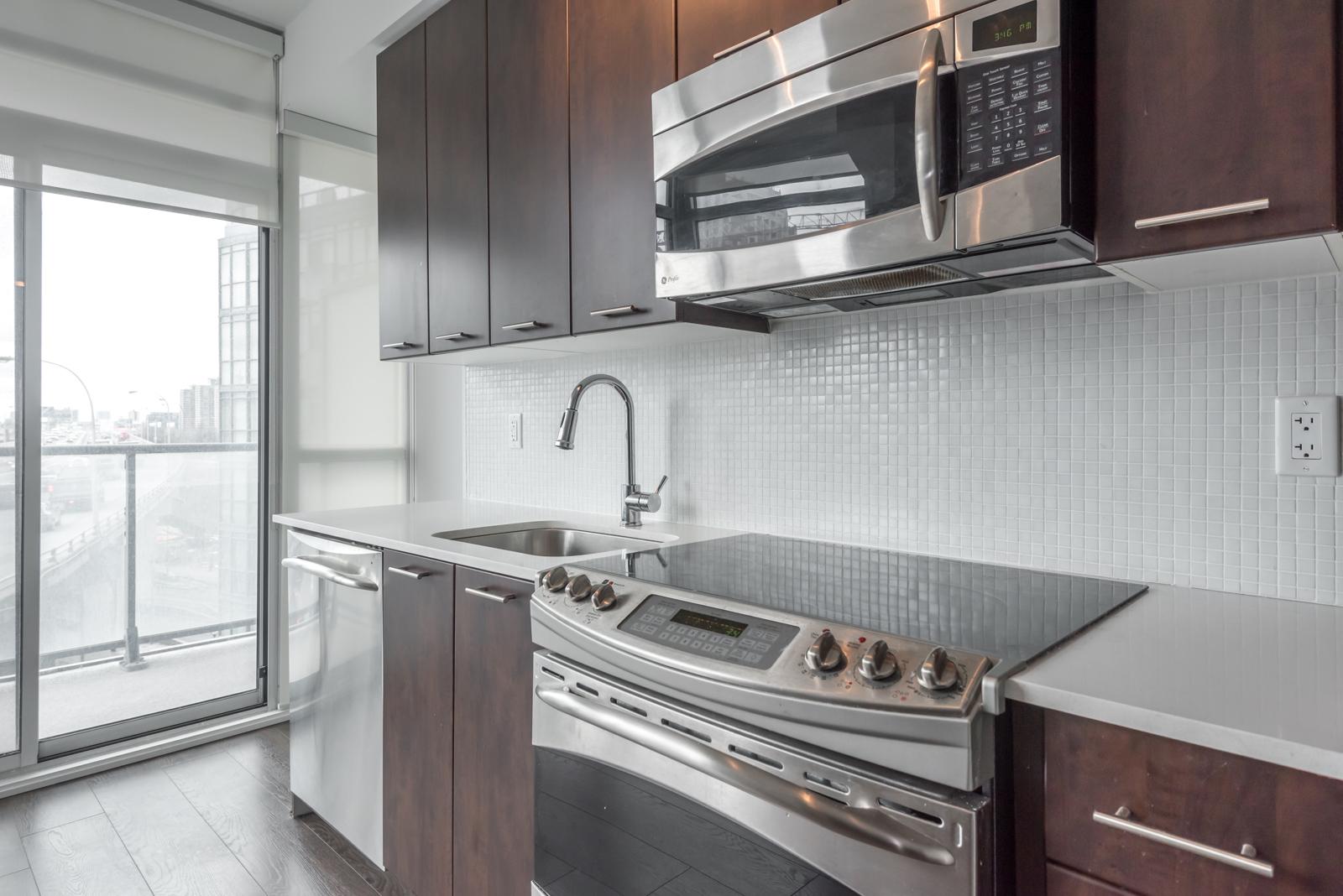 Photo of kitchen appliances.