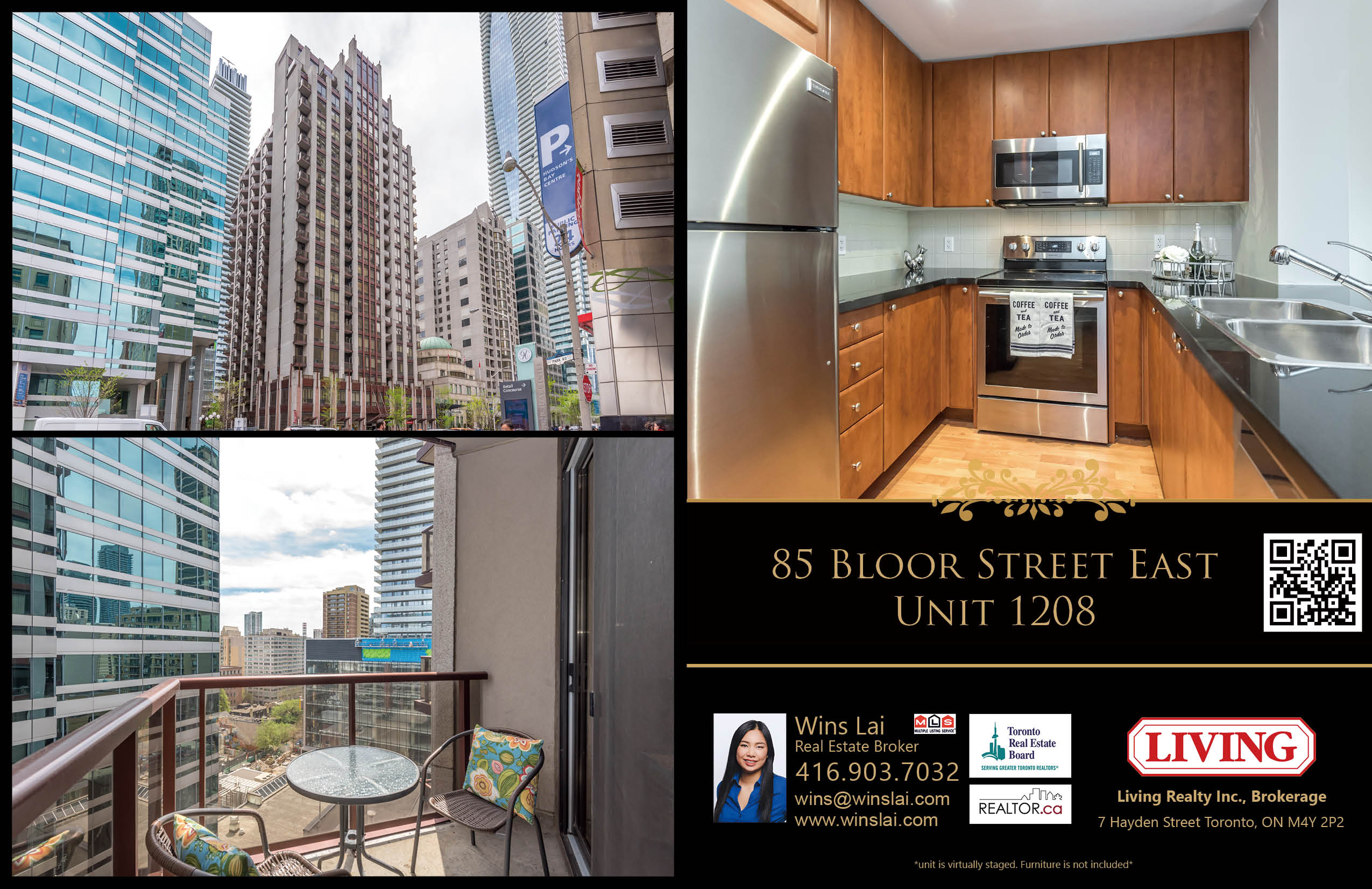 85 Bloor Street and Quick Overview.