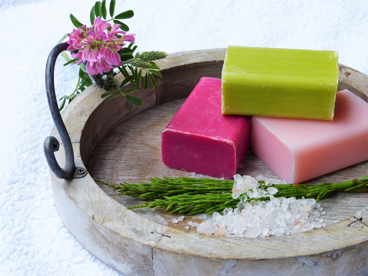 Amsterdam's Soap Stories has a colourful collection of bath and skincare products (Image Credit: Pixabay)