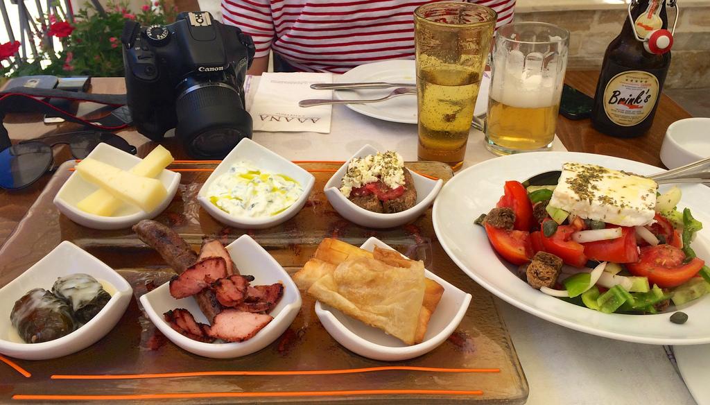 Photo of Greek food
