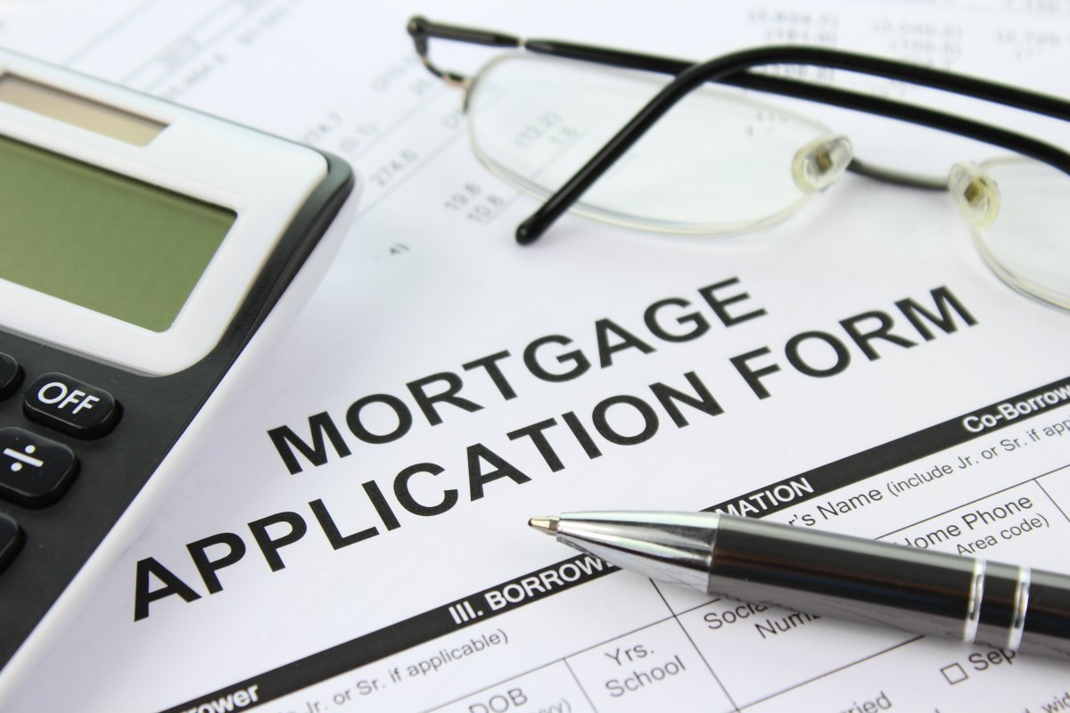 Mortgage application form for home loans