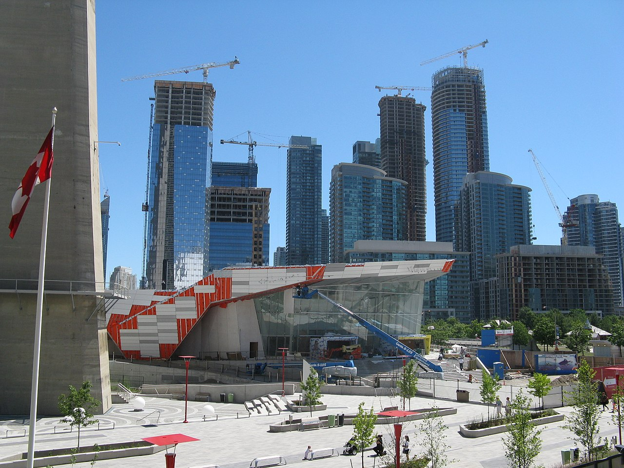 Photo of pre-construction condos in Toronto.
