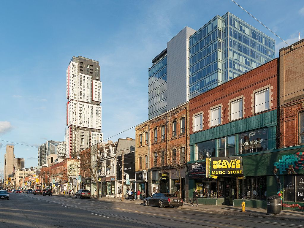 Queen West and Spadina