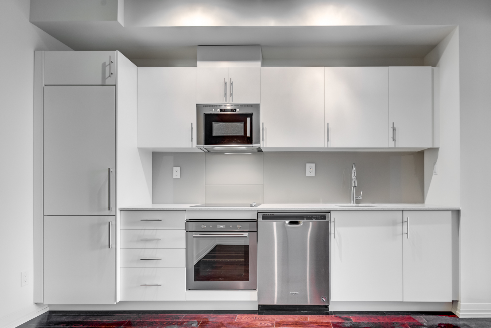 Unit 620 kitchen looking so beautiful and modern.