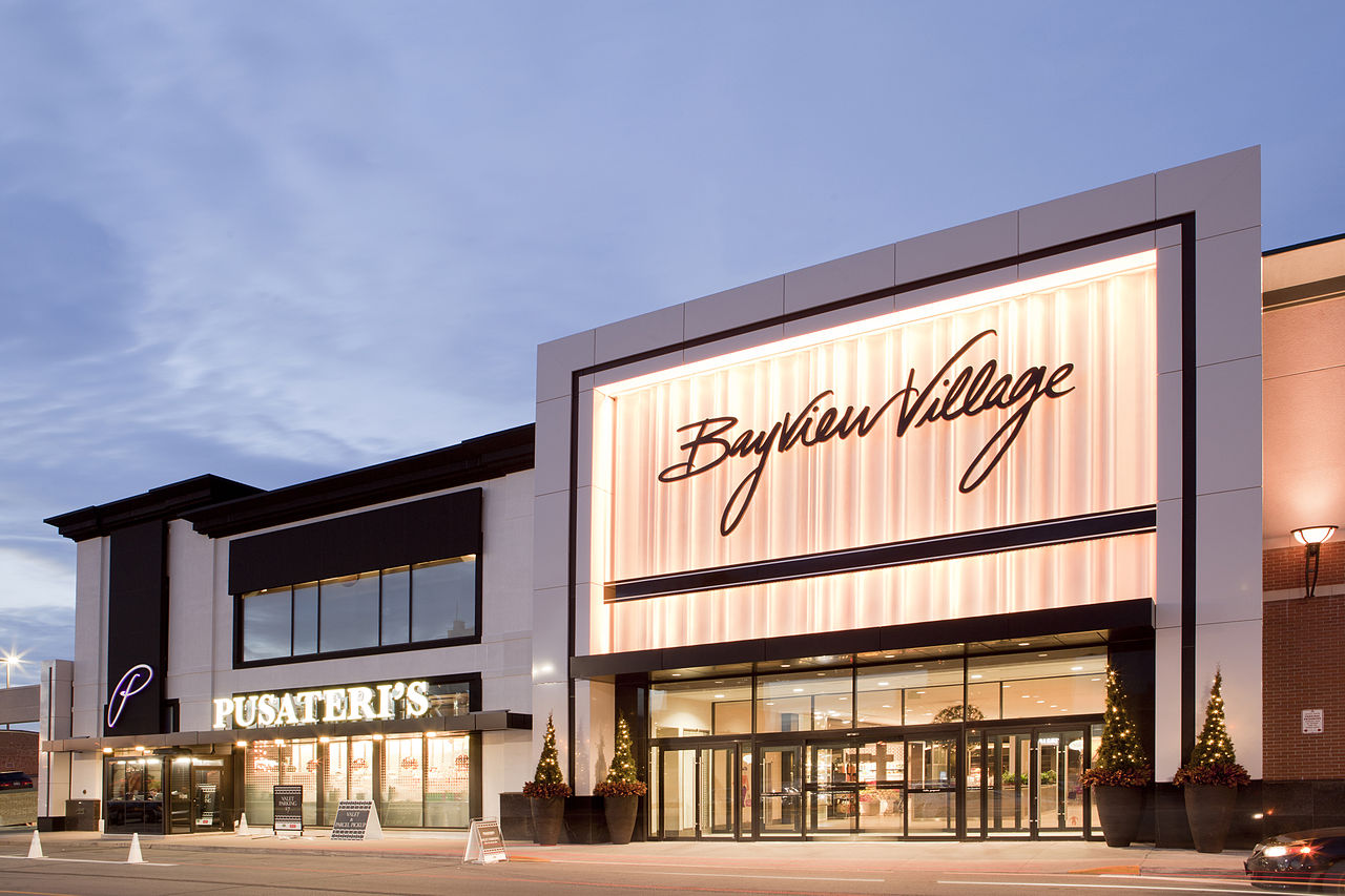 An artist's render of the Bayview Village Shopping Centre in North York, Toronto.