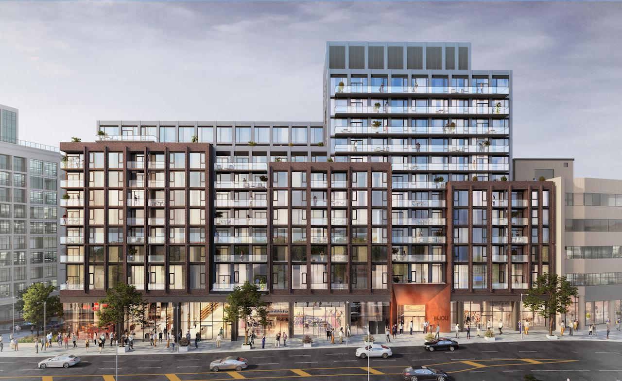 Another 3D image of Bijou on Bloor; this one shows off its perfect geometry.
