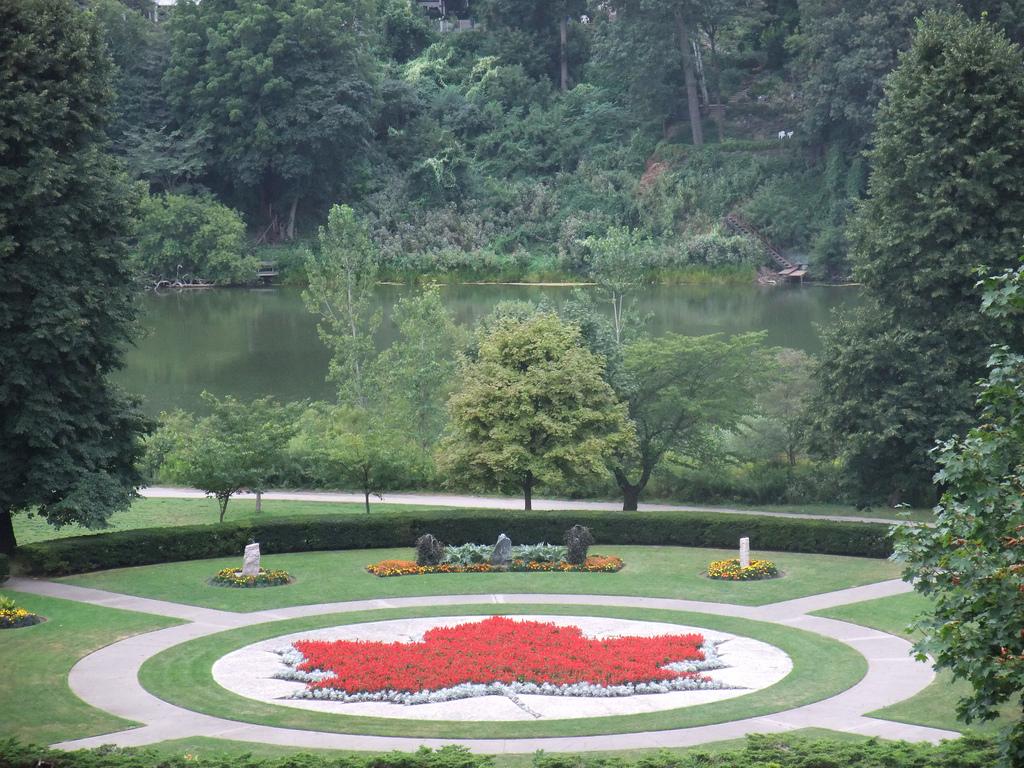 Maple Leaf Garden at High Park, Toronto.