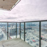 View of Liberty Village from balcony of 150 East Liberty St Unit 1616.
