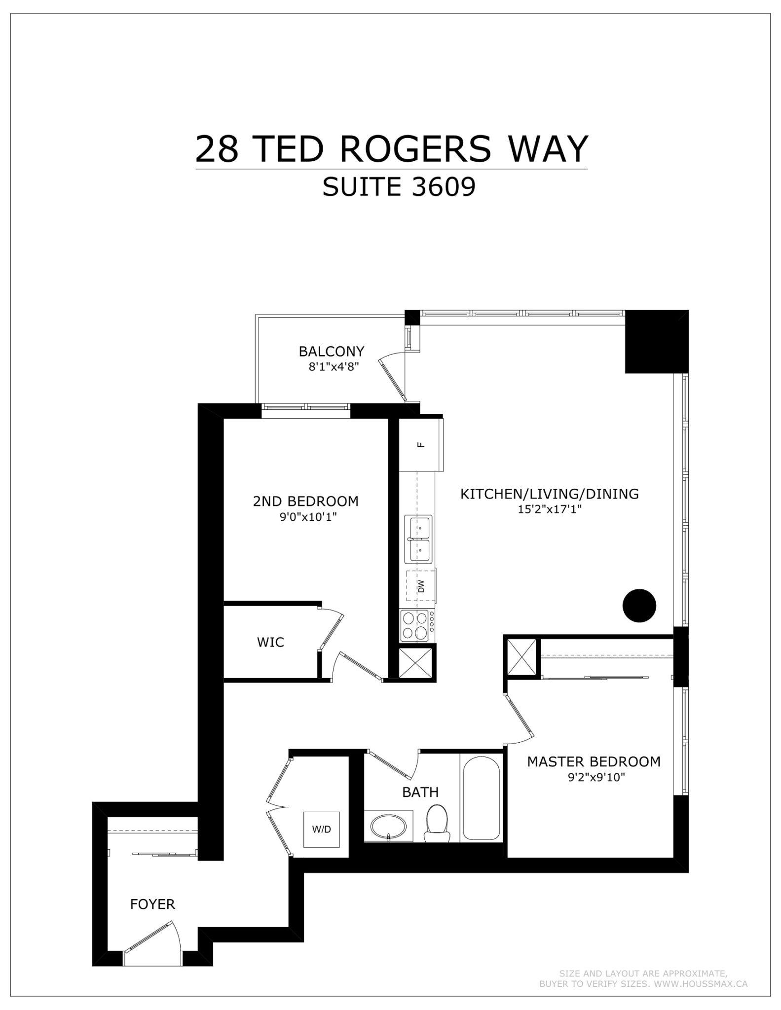 Unit 3609 – Floor Plans