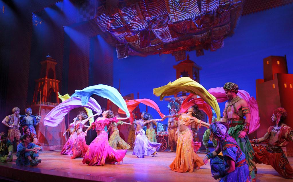 Arabian Nights performance at Ed Mirvish Theatre in Toronto.