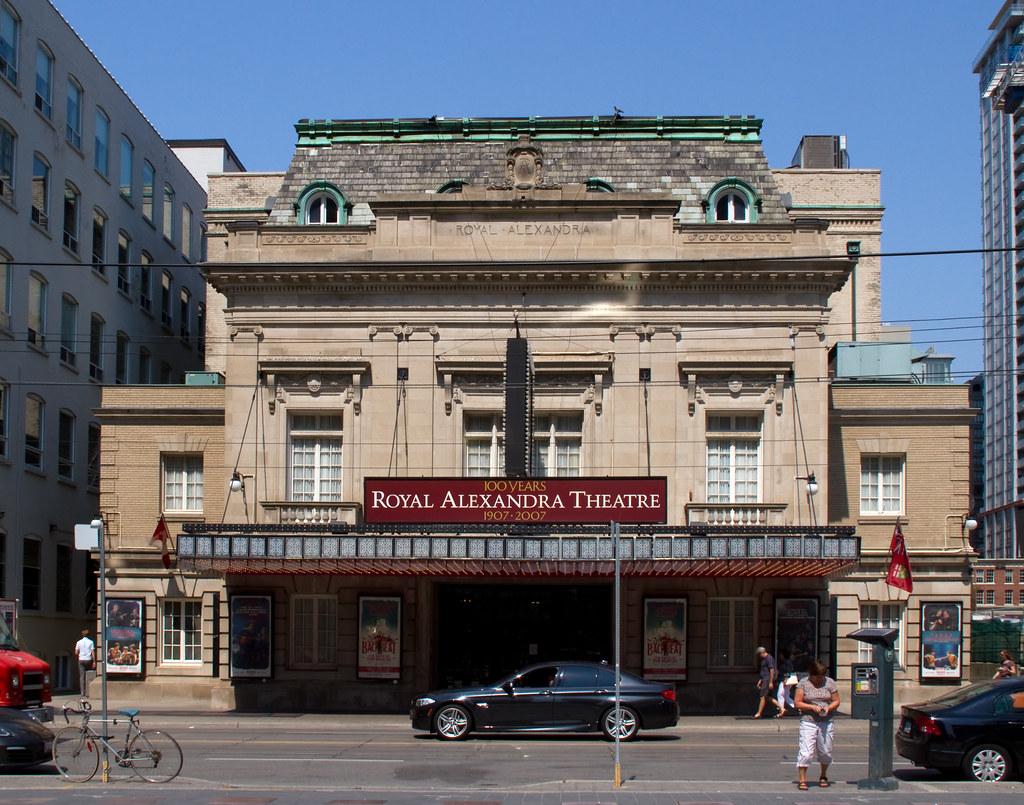 Facade of Royal Alexandra Theatre in Toronto during daytime.