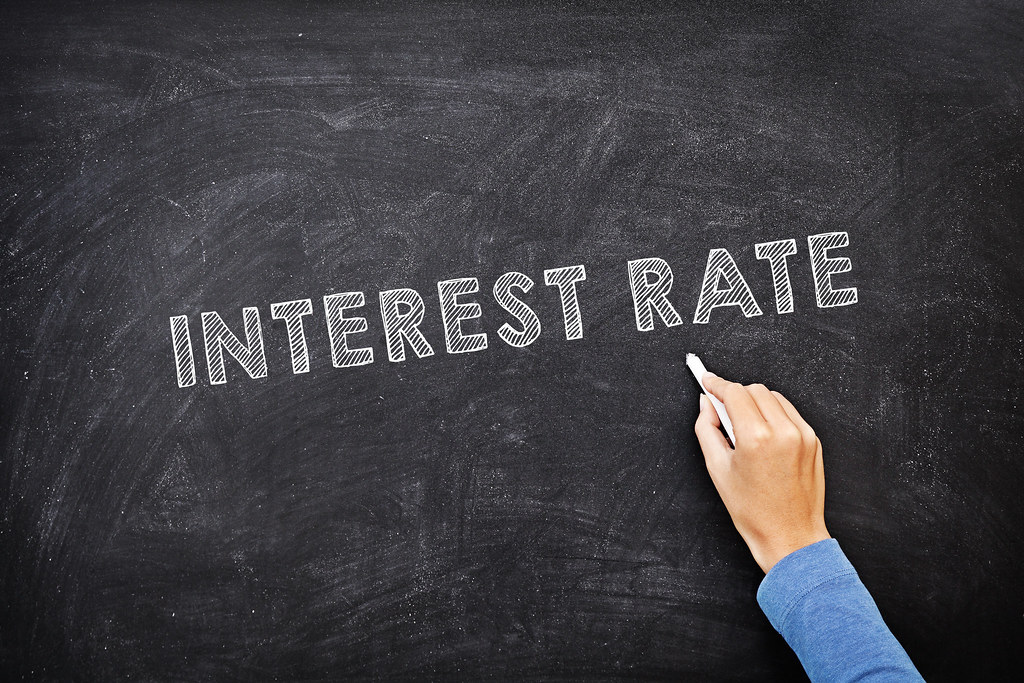 Ask an expert about interest rate on blackboard.