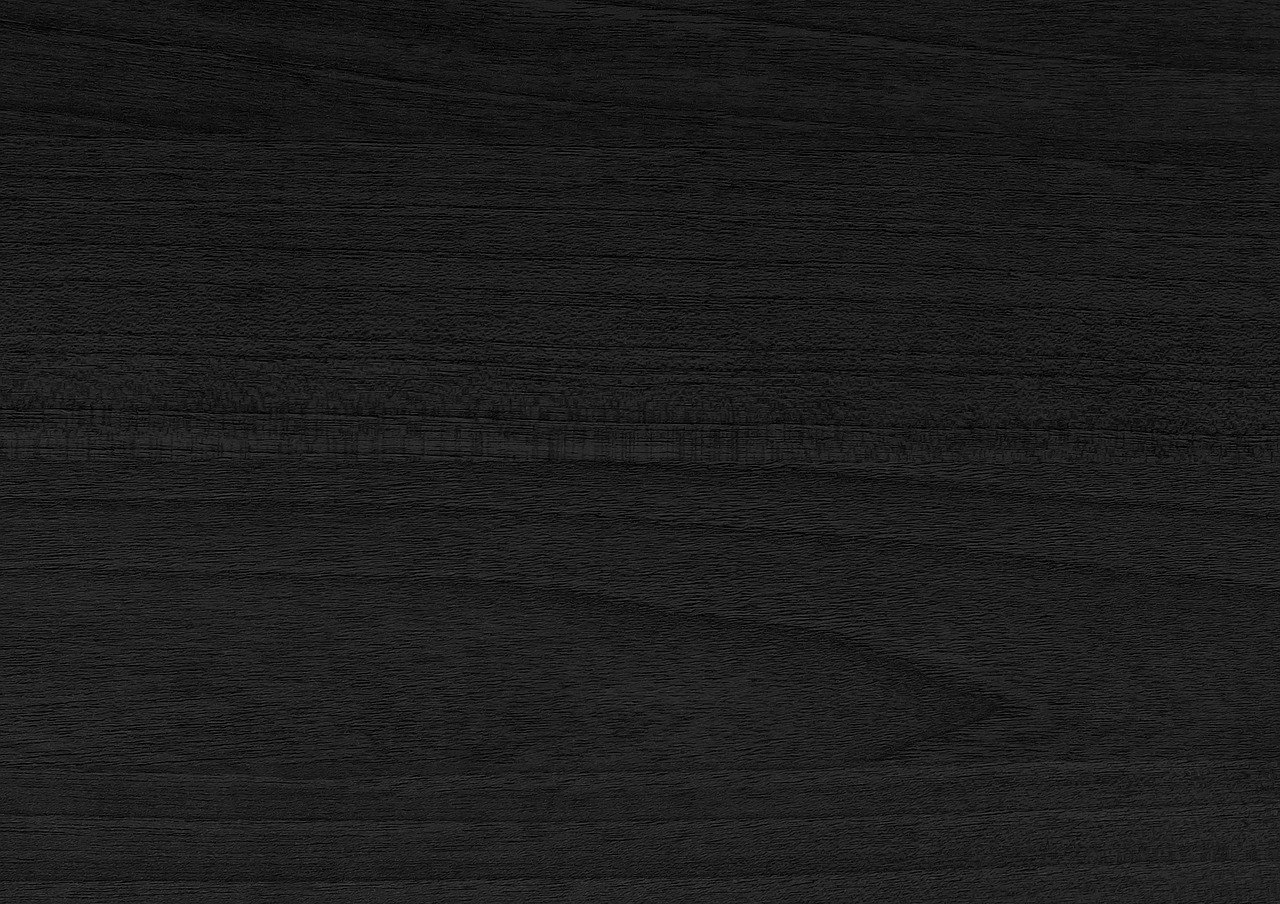 Close up of black hardwood floors.